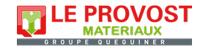Maisons Logibat : Logo Le Provost Materiaux